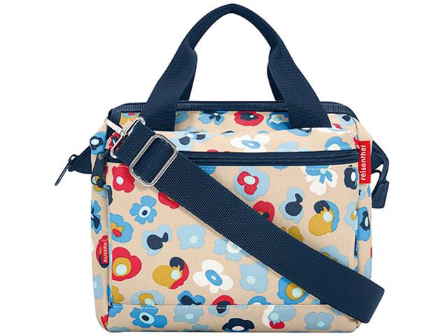 KlickFix Roomy E Handlebar Bag, millefleurs